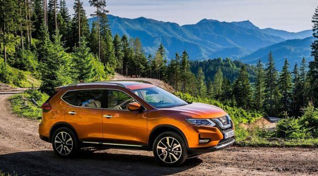 Nissan X-Trail 小改款无伪装测试捕获,新车即将登场?