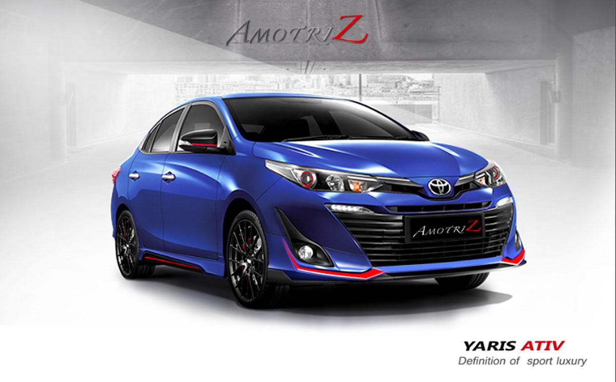 Toyota Vios XP151 泰国改装套件,比本地原厂的好看!