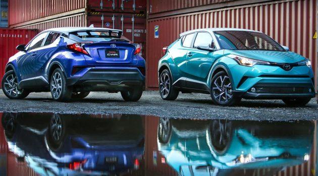 Toyota C-HR 将迎来升级版,换装新轮圈设计!