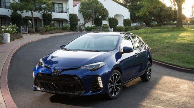 2018年全球最畅销车型, Toyota Corolla 狂卖1,181,445辆!