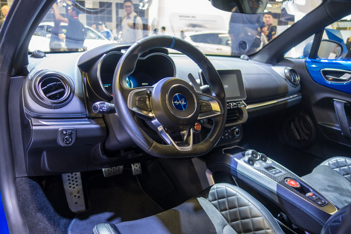 Singapore Motorshow 2019 :法系小跑车 Alpine A110 !