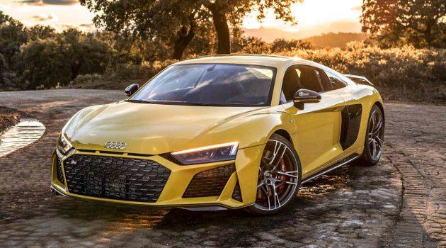 2号档破百!2019 Audi R8 Performance 加速实测!
