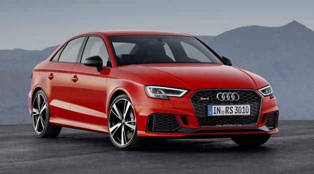比蛮牛 Gallardo 还快!原装 Audi RS3 3.7秒就破百!