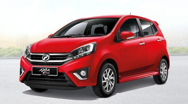 2018年东南亚十大畅销车款,第三名是 Perodua Axia !