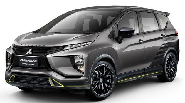 帅气7人车, Mitsubishi Xpander Street Sport 假想释出!