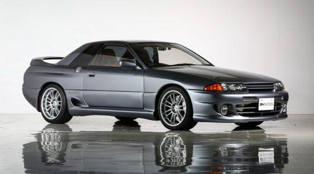 稀有品种!1993 Nissan Skyline R32 HKS Zero-R 东京车展拍卖!