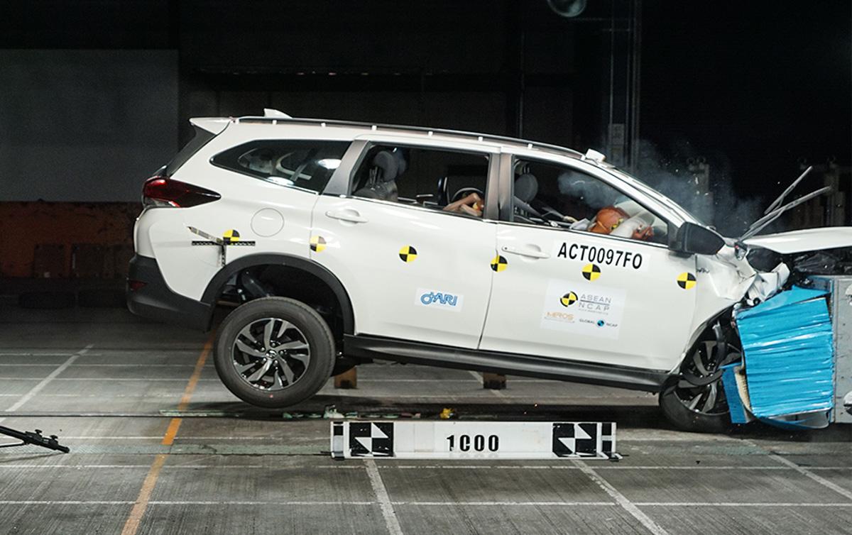 Perodua Aruz 在 Asean NCAP 测试获得五星评价!