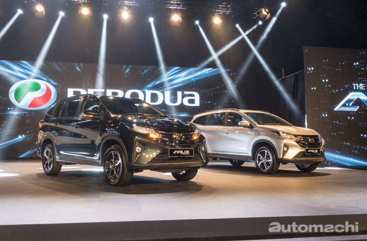 Perodua Aruz 涨价?原厂:一场误会!