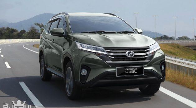 Perodua Aruz 价格表流出,确认 RM 72,200 起跳!