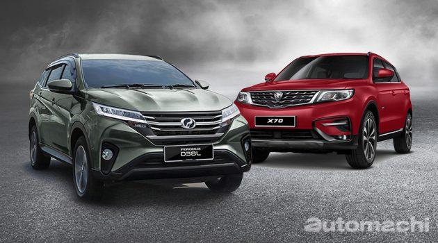 比不上 X70 ! Perodua Aruz 的市场定位在哪里?