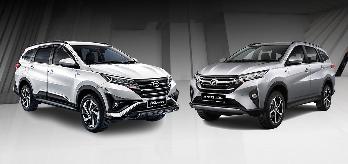 Perodua Aruz 和 Toyota Rush 差别在哪里?