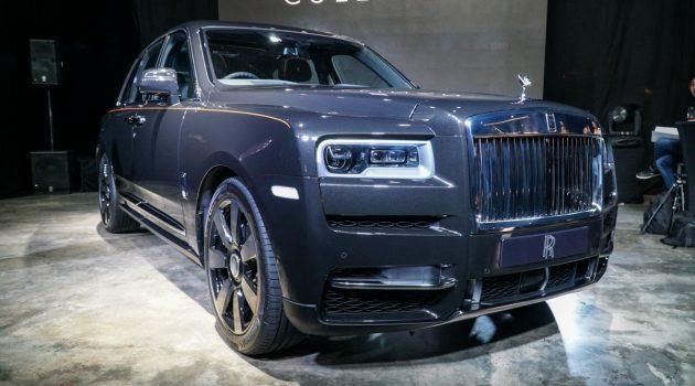 最奢华 SUV ! Rolls Royce Cullinan 登陆我国!
