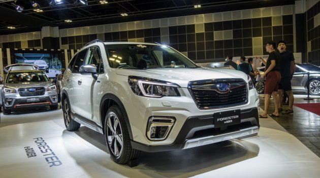 Singapore Motorshow 2019 : Subaru Forester e-Boxer 发表!