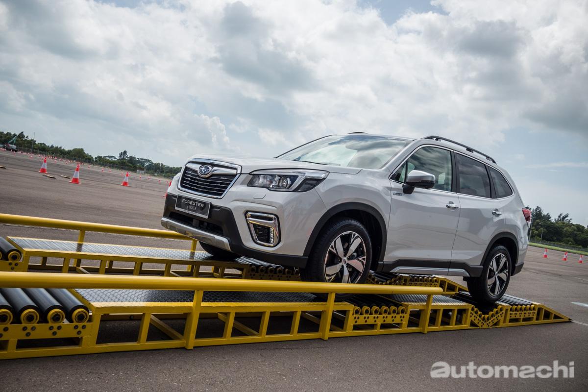 Singapore Motorshow 2019 : Subaru Forester e-Boxer 东南亚首发!