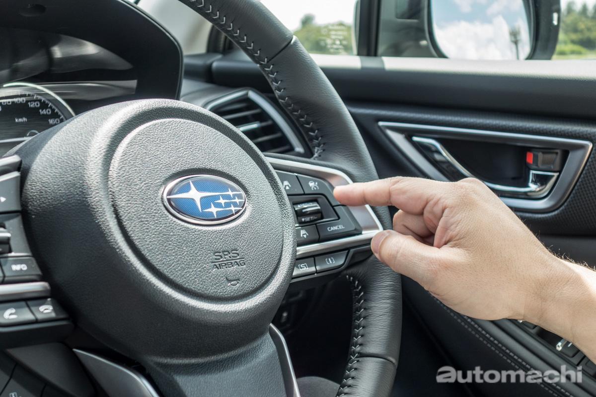 Subaru Forester e-Boxer 初体验,操控与安全兼具!