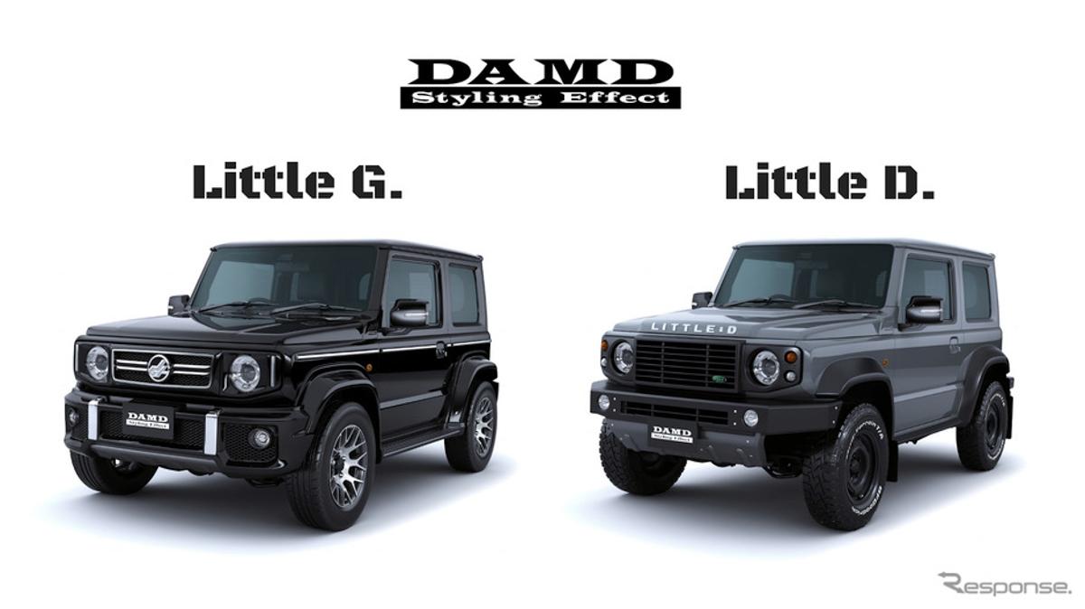 Baby G & Baby D! Suzuki Jimny DAMD 空力套件官图出炉!