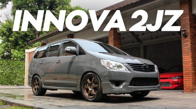 """7人座""""牛魔王""""?移植 2JZ 的 Toyota Innova !"""