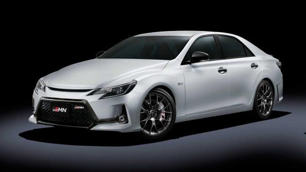 Toyota Mark X GRMN 现身东京改装车展,限量350台!