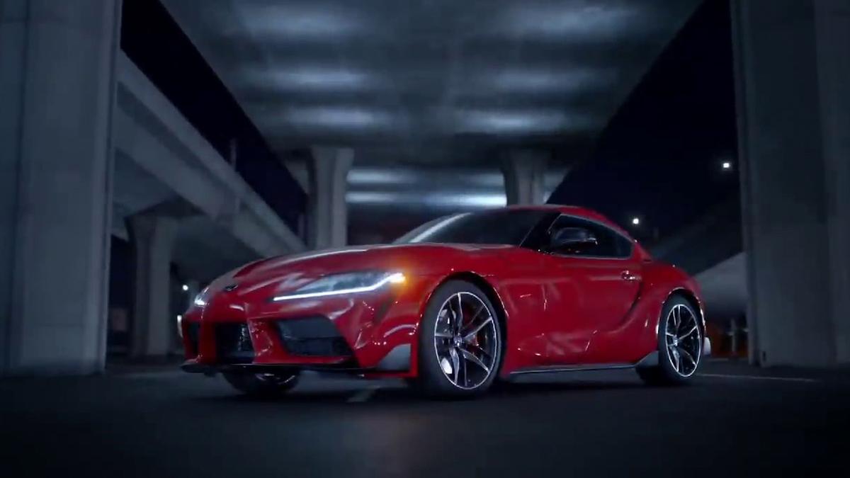 2019 Toyota Supra 官方影片流出,实车帅气现身!