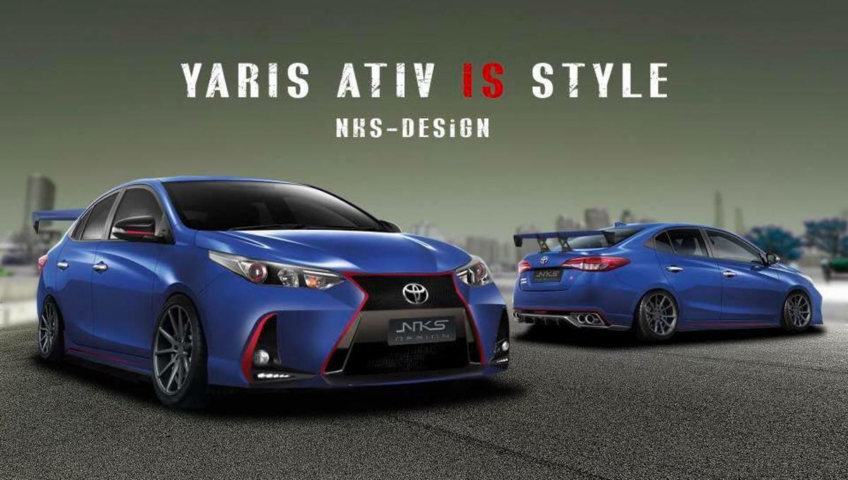 告别复杂! Toyota Vios XP151 NKSdesign 空力套件登场!