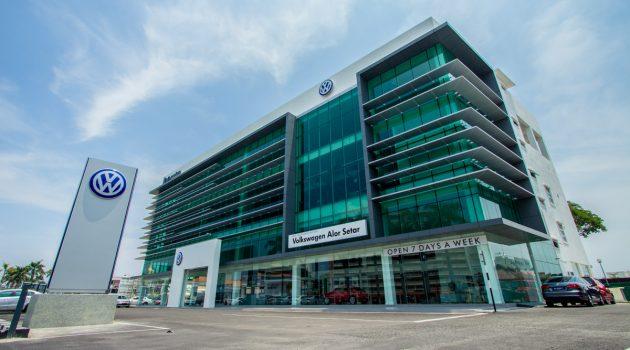 Volkswagen Alor Setar 升级 4S ,新增车身维修与喷漆中心!