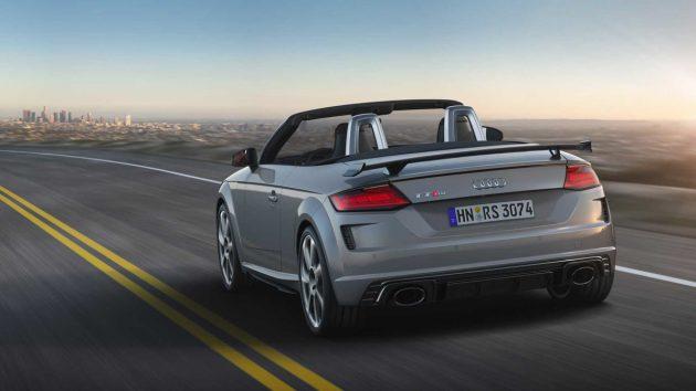 2019 Audi TT RS 官图发布,日内瓦车展首发!