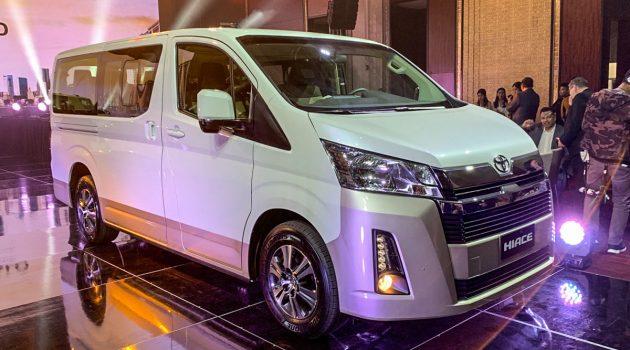 2019 Toyota Hiace 菲律宾全球首发!