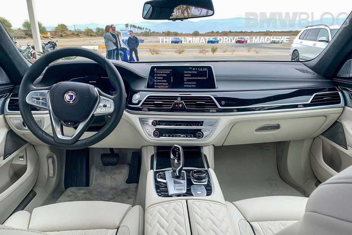 大鼻子很霸气 2020 Alpina B7 实车现身 Automachi Com