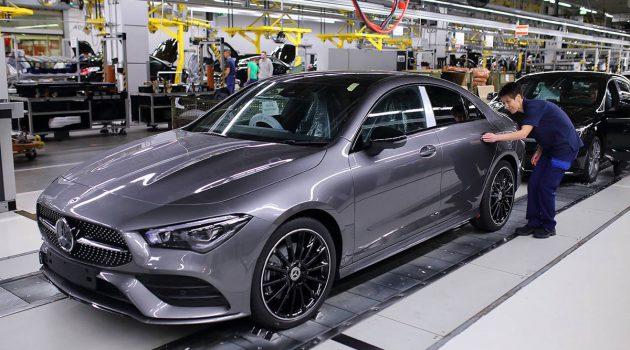 2020 Mercdes-Benz CLA 正式投产,欧洲5月开售!