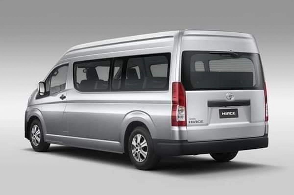 2020 Toyota Hiace 内外全曝光!预计今年正式发表!