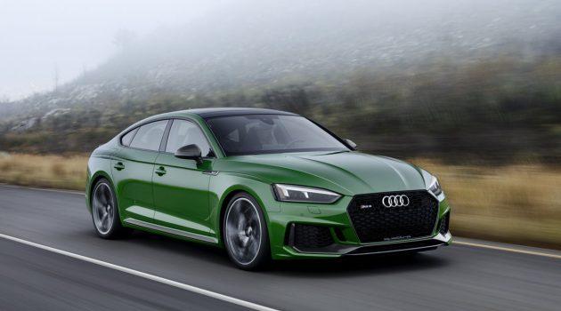Audi RS5 正式开放预订,最大马力表现444 Hp!