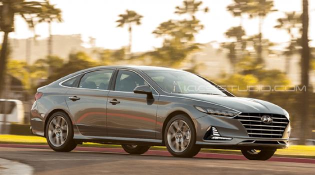 Hyundai Sonata 大改款现身,尾灯设计很独特!