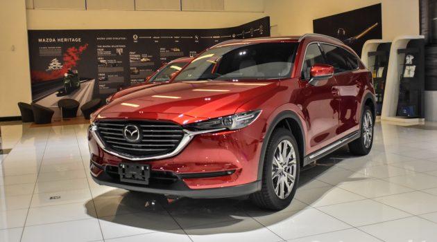 Mazda CX-8 现身我国预览!备有四种车型!
