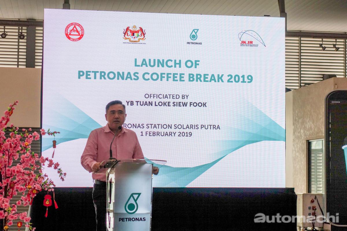 Petronas 推出 Coffee Break 佳节免费咖啡活动!