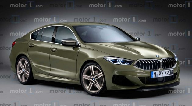 CLA杀手? BMW 2 Series Gran Coupe 长这样!