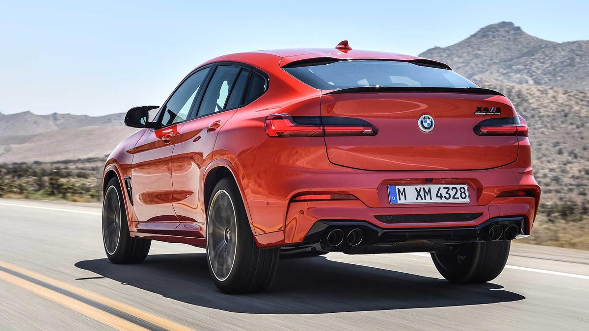 2020 BMW X3 M ,X4 M 正式发布!最大马力 473 hp!