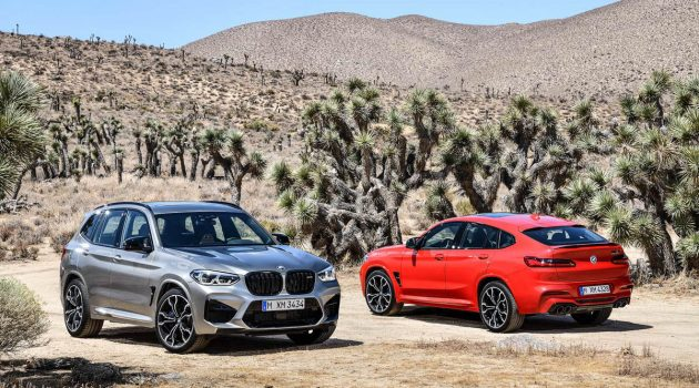 2020 BMW X3 M / X4 M 正式登场,最大马力473 hp!