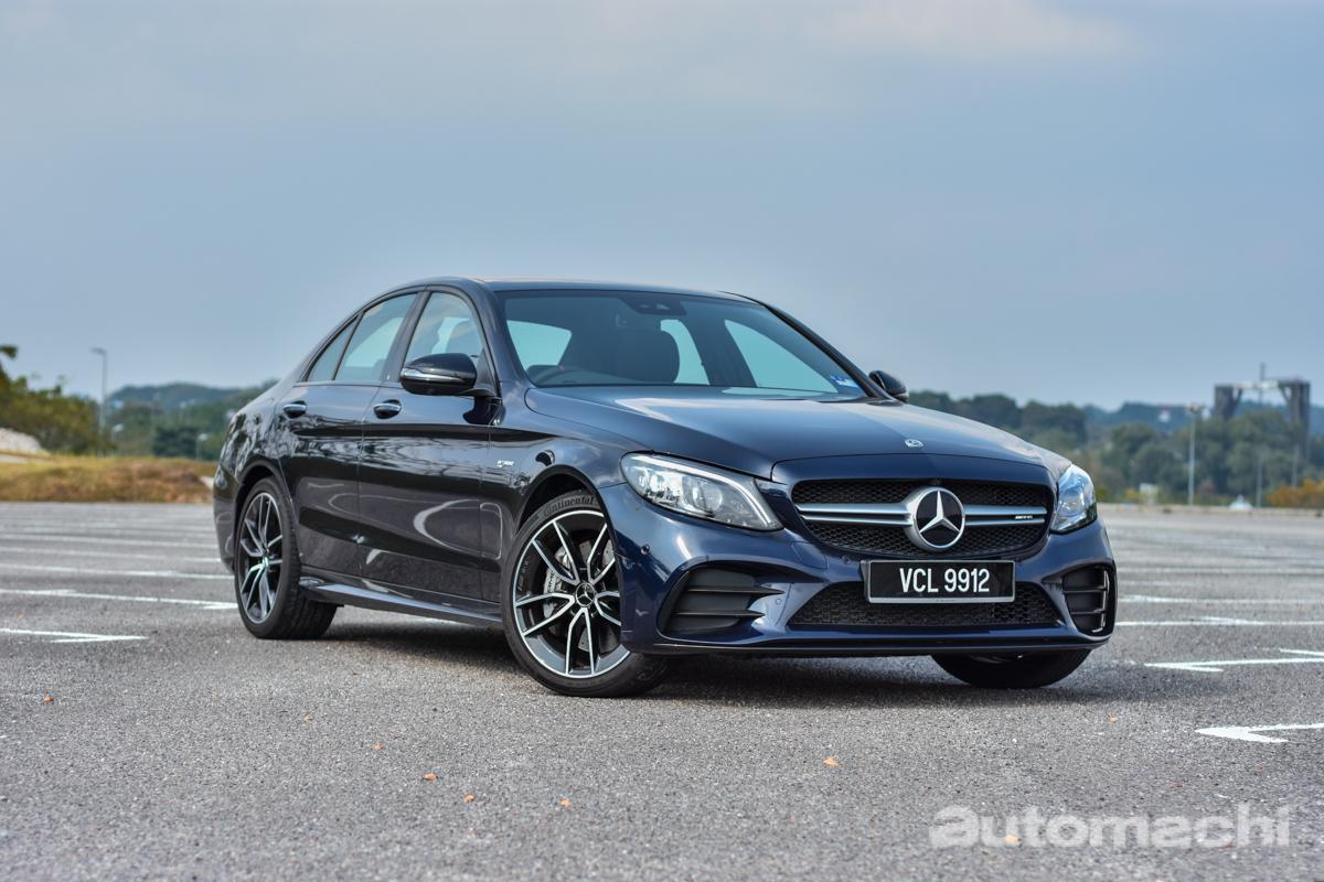 Mercedes-AMG C43 4MATIC ,兼顾舒适的 AMG !