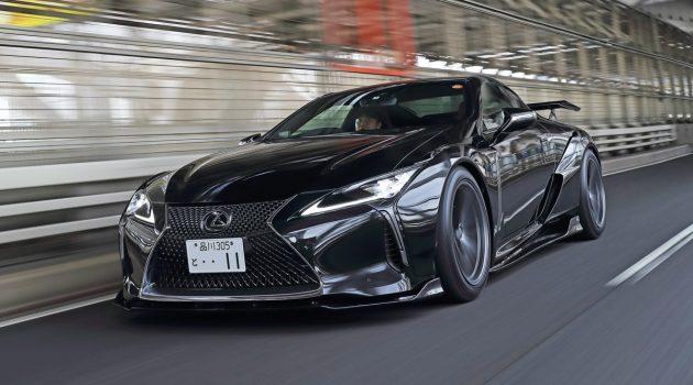 Lexus LC 500 Artisan Spirits 空力套件动感登场!