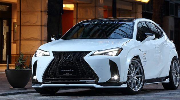 Lexus UX F Sport 专属 Artisan Spirits 空力套件登场!