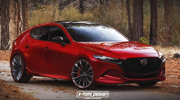 "2019 Mazda3 MPS 热血""出炉""!这样的钢炮你觉得如何?"