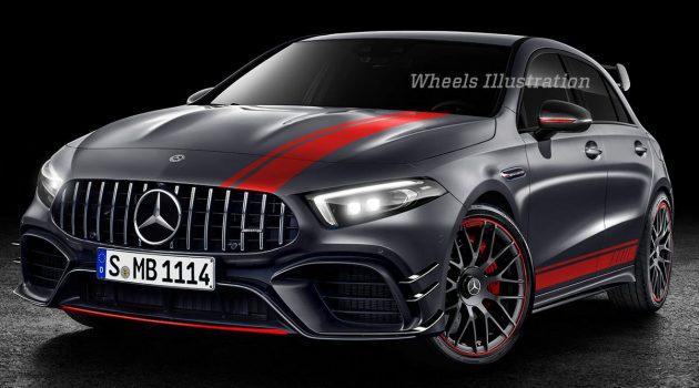 2020 Mercedes-AMG A45 马力确认:383 hp 与 416 hp!