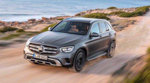 2020 Mercedes-Benz GLC 登场,换装全新引擎!