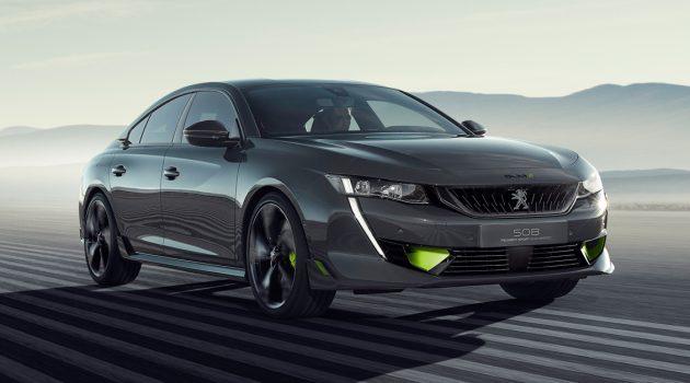Peugeot 508 Sport Engineered Concept 官图出炉!
