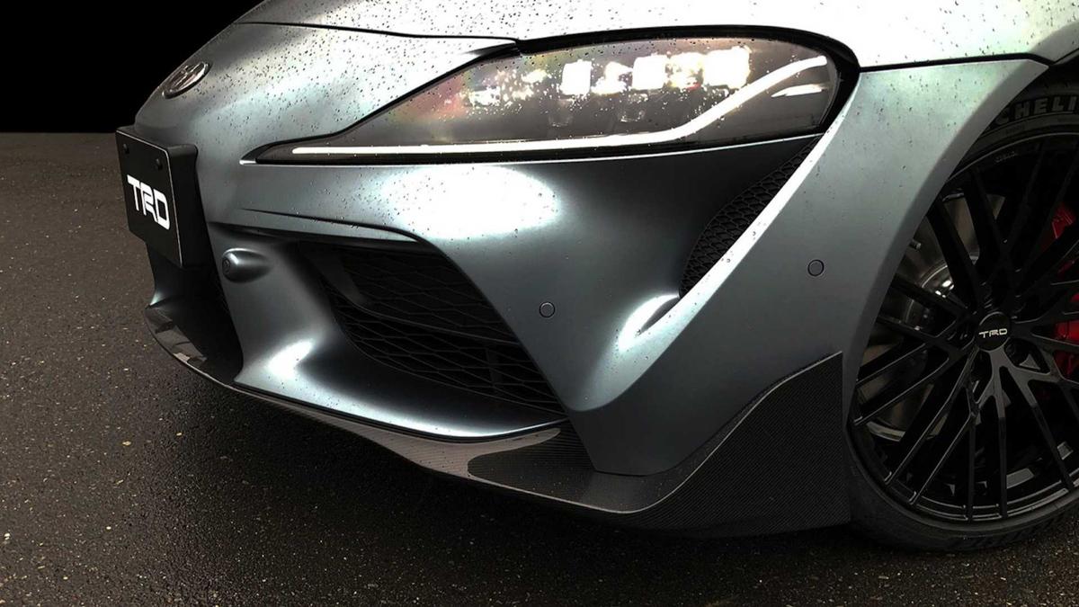 更显帅气, Toyota Supra TRD 概念车正式发布!