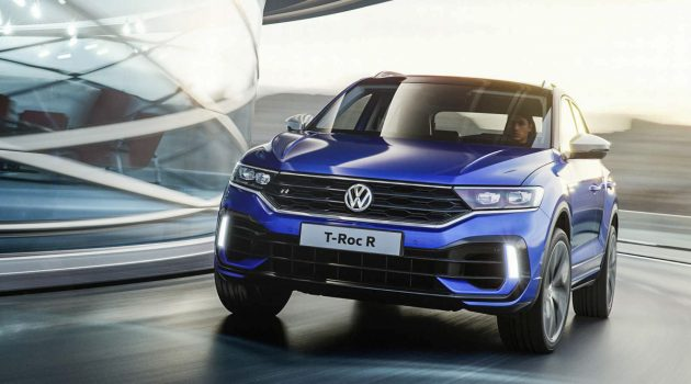 Volkswagen T-Roc R 发表,0-100只需4.9秒!
