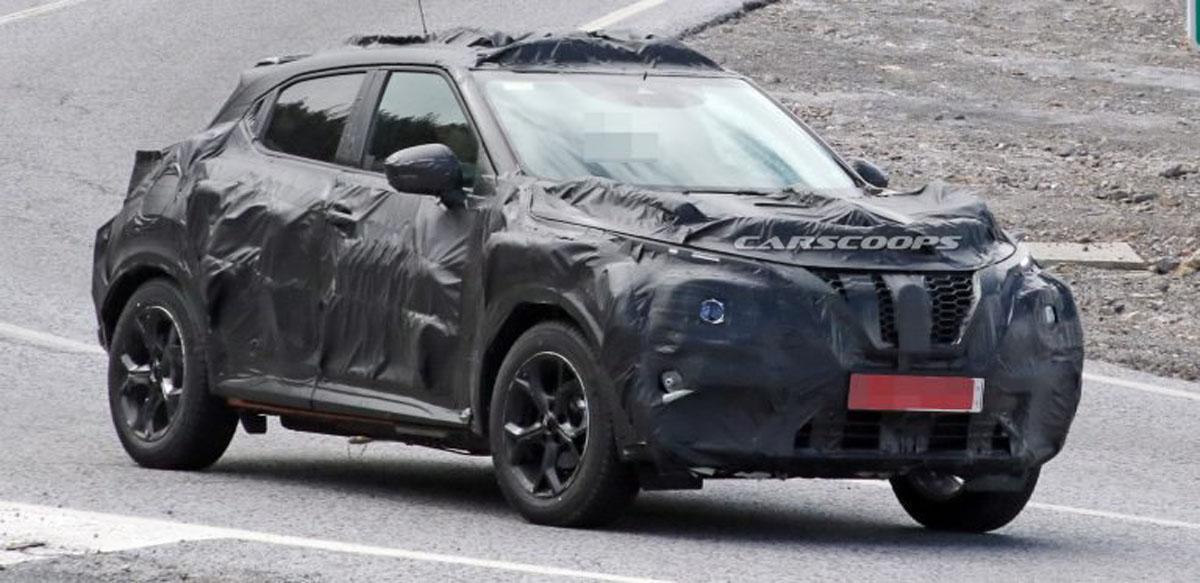 2019 Nissan juke 现身,外观依旧独特!