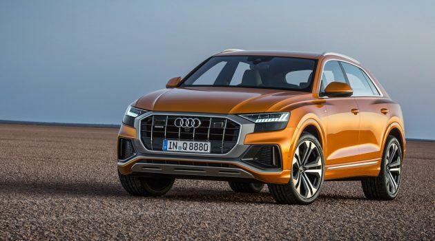 2019 Audi Q8 登陆我国,售价 RM 727,900!