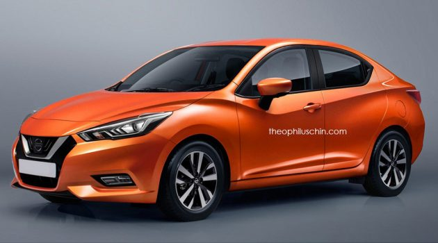 大改款要来了?新一代 Nissan Almera 现身路试!
