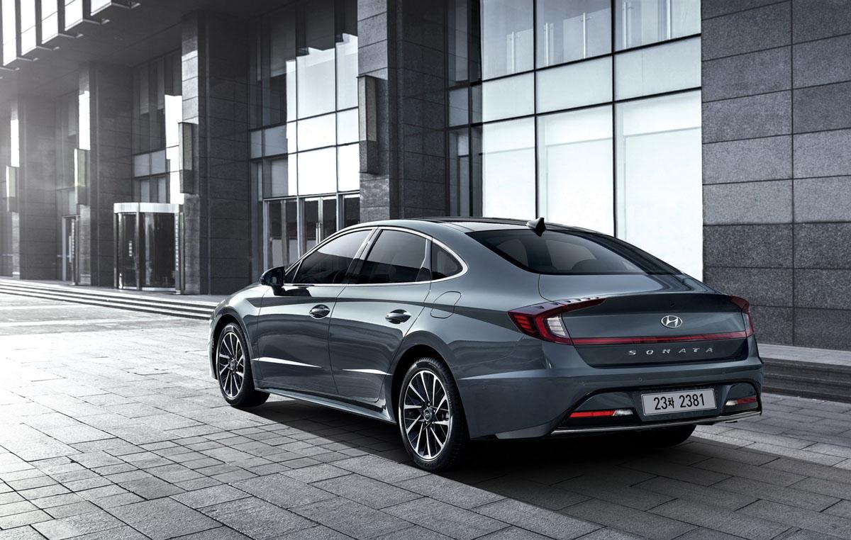 2020 Hyundai Sonata 正式登场,全新家族设计你觉得怎样?
